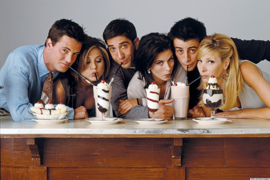Ranking the Friends from the hit TV Show Friends
