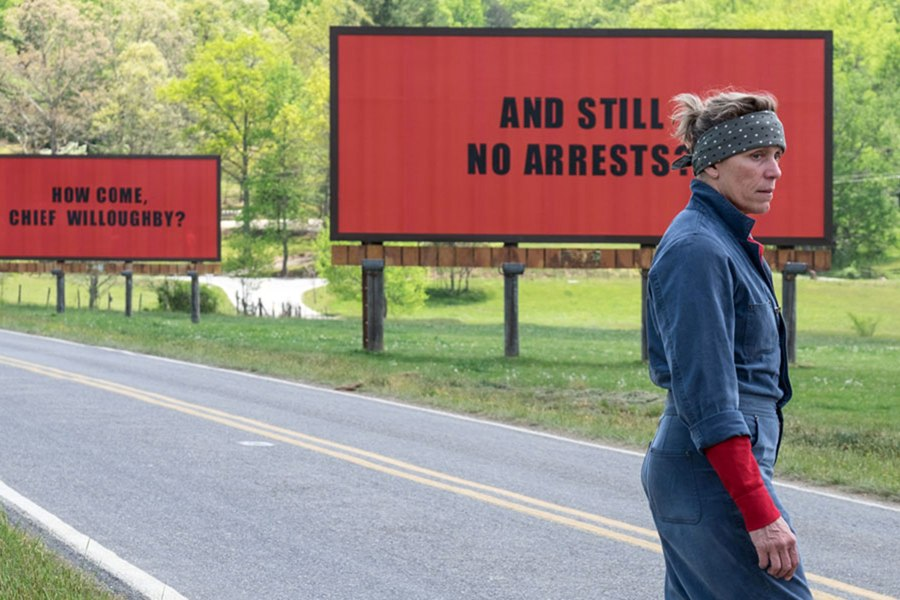 Three Billboards Hits the Nail on the Nose with a Molotov Cocktail