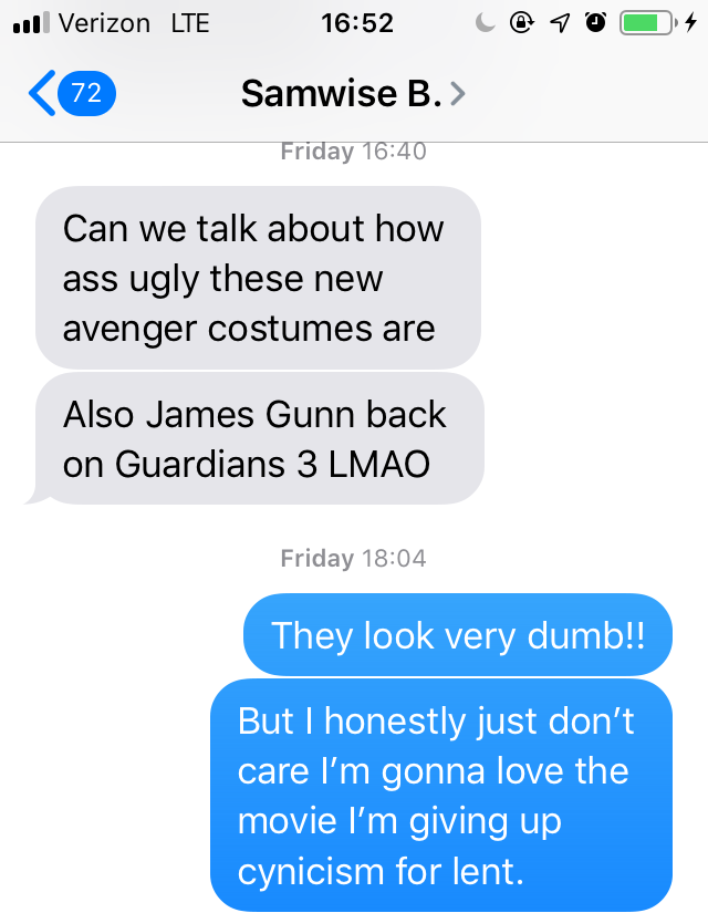 Discussing Endgame 1